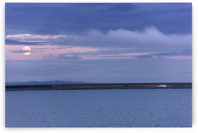 Water And Dark Clouds by PacificStock