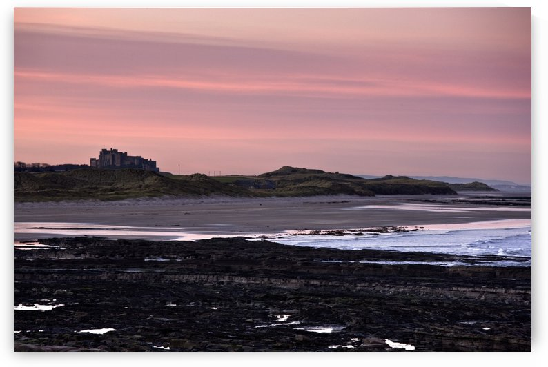 Seashore At Sunset, Northumberland, England by PacificStock