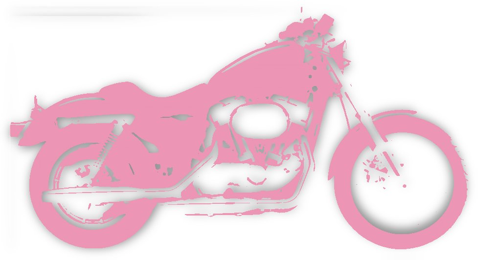 pink bike by STOCK PHOTOGRAPHY