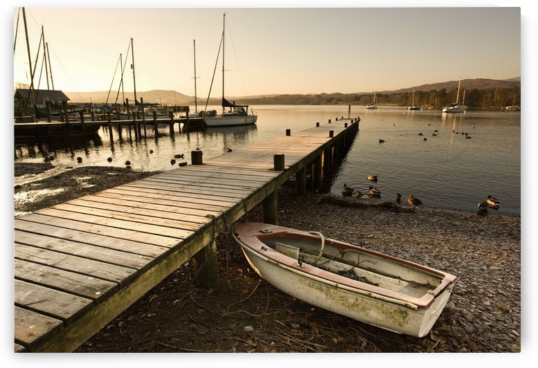 Ambleside, Cumbria, England; Harbor by PacificStock