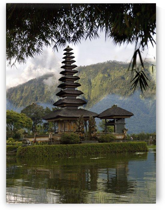 Ulun Danu Temple On Beratan Lake; Bali, Indonesia by PacificStock