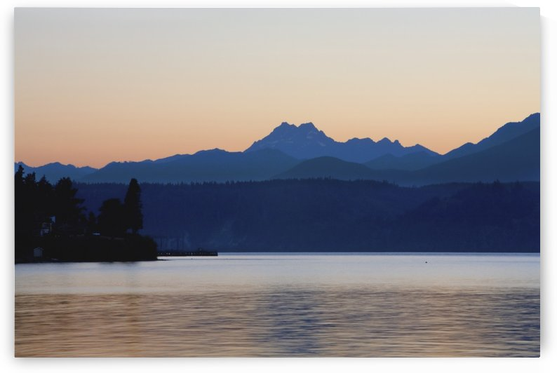Lake And Mountains by PacificStock