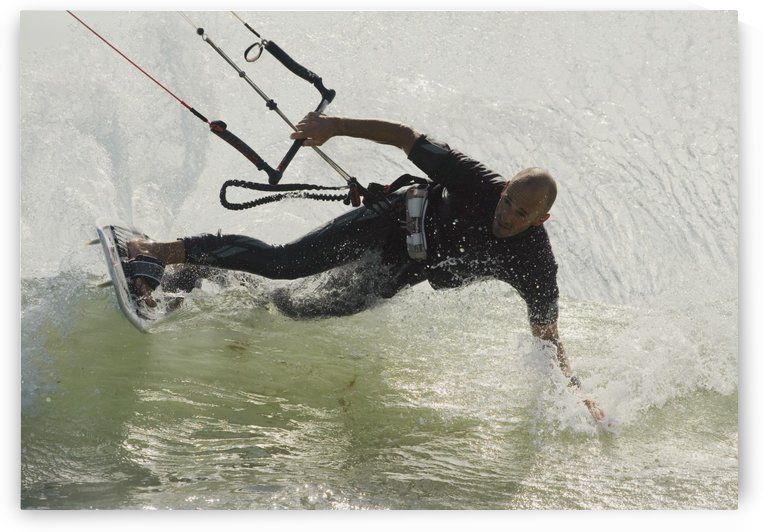 Man Kitesurfing by PacificStock