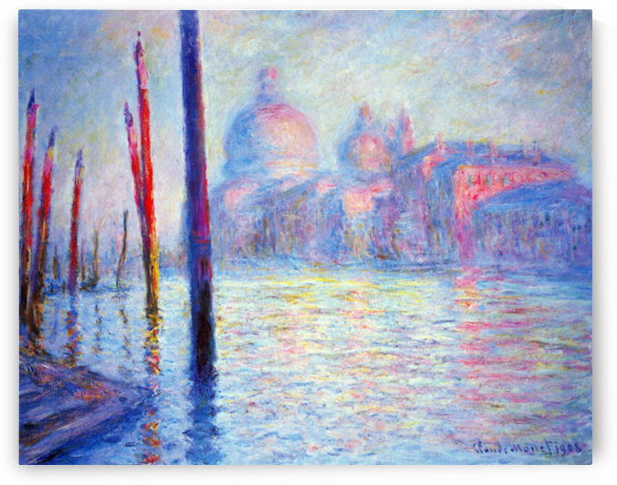 Canal Grand by Monet by Monet