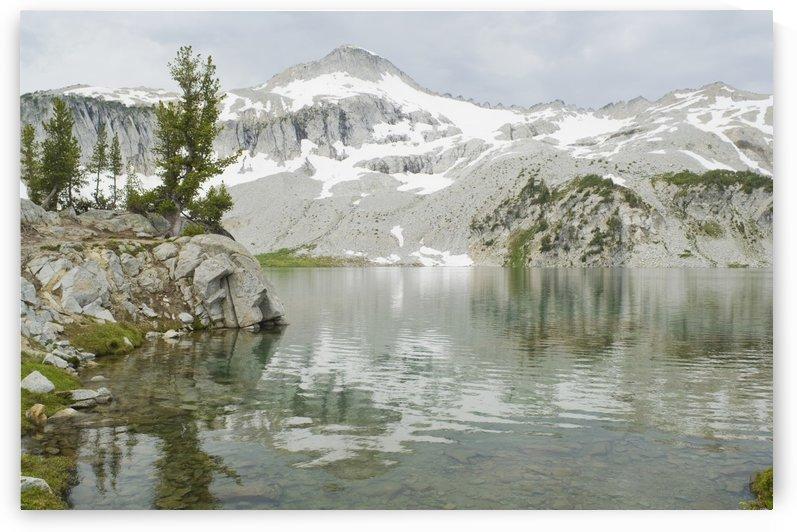 Eagle Cap Wilderness, Oregon, United States Of America; Glacier Peak And Glacier Lake In The Wallowa Mountains by PacificStock