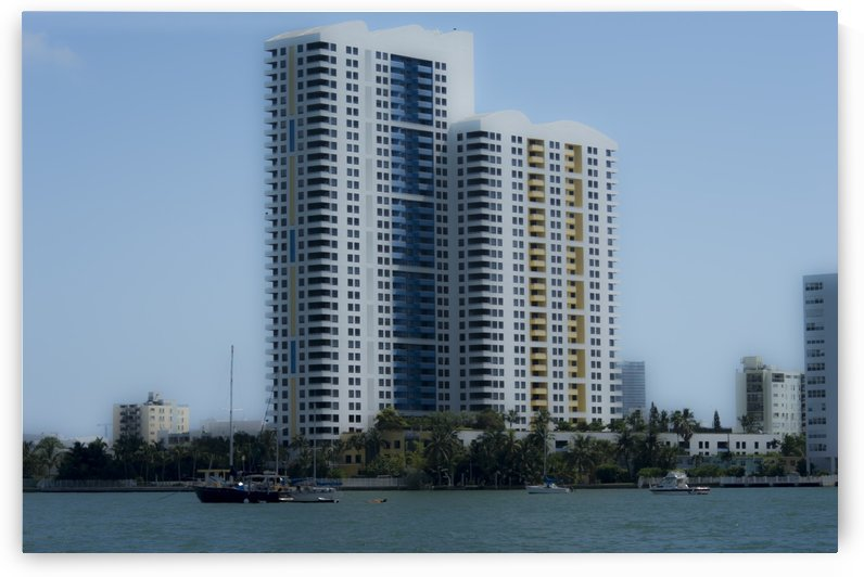Miami Beach Buildings by Cameron Young
