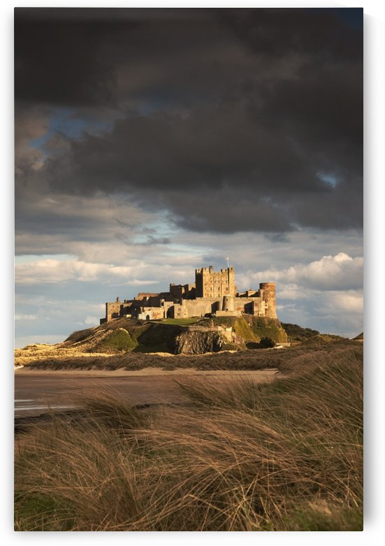 Bamburgh, Northumberland, England; Bamburgh Castle by PacificStock