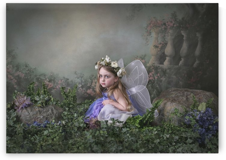 A Girl Dressed As A Fairy; Victoria, British Columbia, Canada by PacificStock