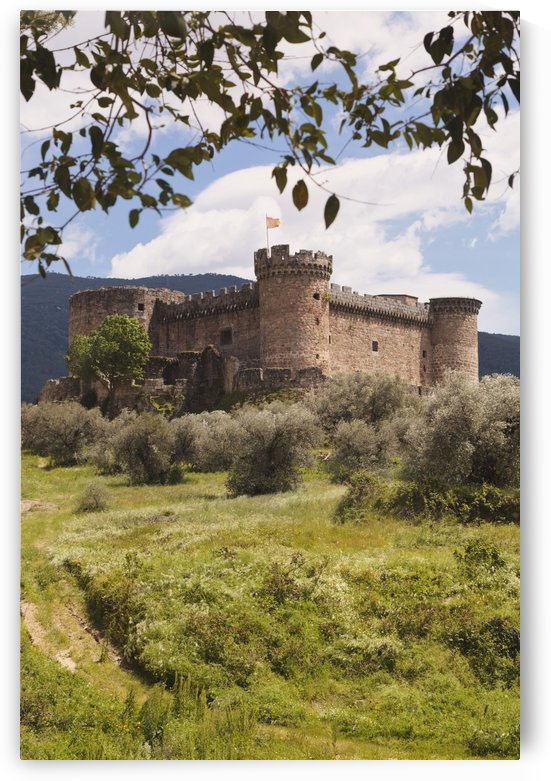 15Th Century Castle Of The Duke Of Alburquerque; Mombeltran, Avila Province, Spain by PacificStock