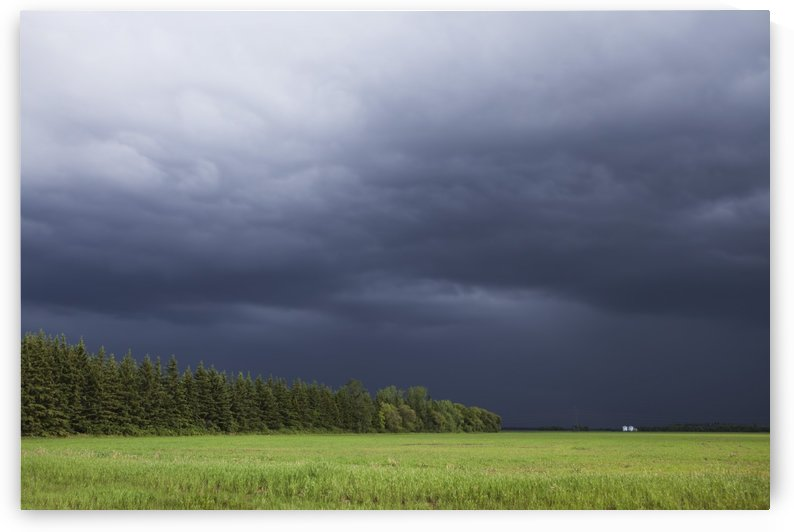 Storm Clouds Over The Prairies; Winnipeg, Manitoba, Canada by PacificStock