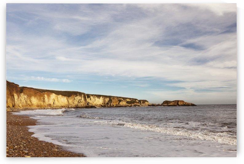 Tide Along The Coastline; Marsden Bay, Tyne And Wear, England by PacificStock