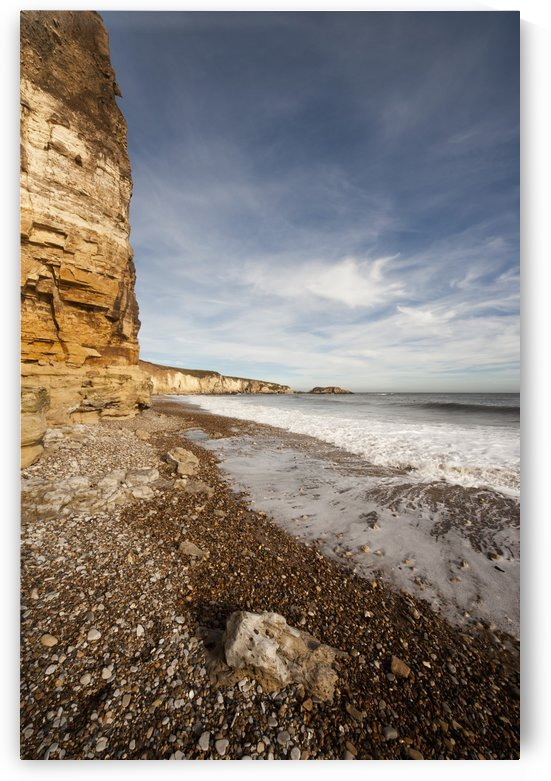 Tide Rushing On To The Shore; South Shields, Tyne And Wear, England by PacificStock