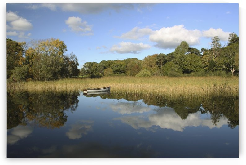 A Boat In The Water In Killarney National Park In Munster Region; County Kerry, Ireland by PacificStock