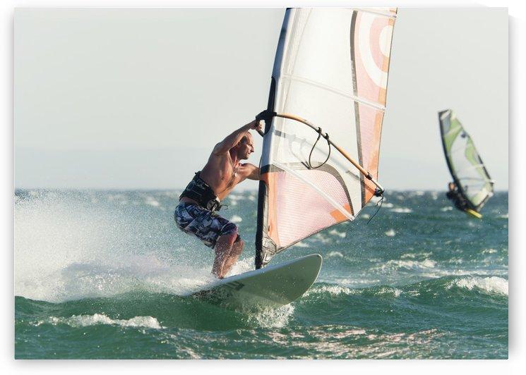 Windsurfing; Tarifa, Cadiz, Andalusia, Spain by PacificStock