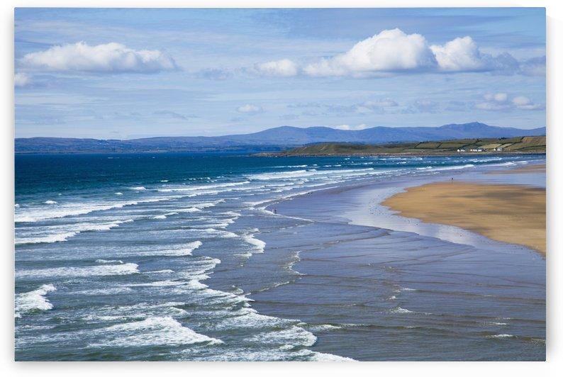 Waves On Beach; Bundoran, County Donegal, Ireland by PacificStock