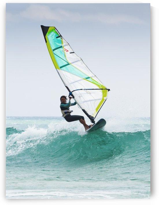 Windsurfing Off Punta Paloma; Tarifa, Cadiz, Andalusia, Spain by PacificStock