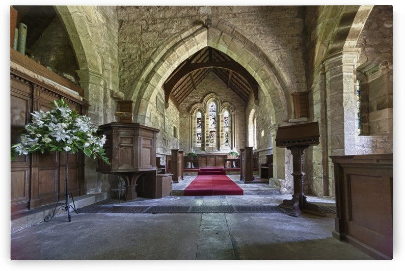 St. Michael And All Angels Church; Ingram, Northumberland, England by PacificStock