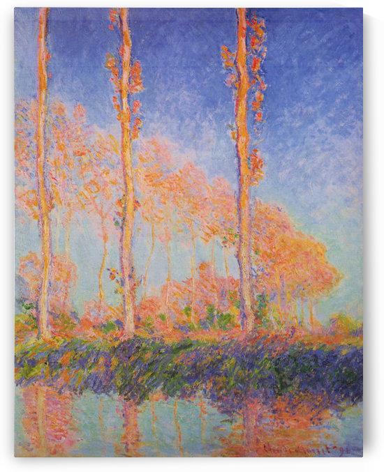 Claude Monet - Poplars at Philadelphia by