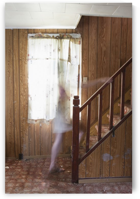 Ghost On The Stairs; Thunder Bay, Ontario, Canada by PacificStock