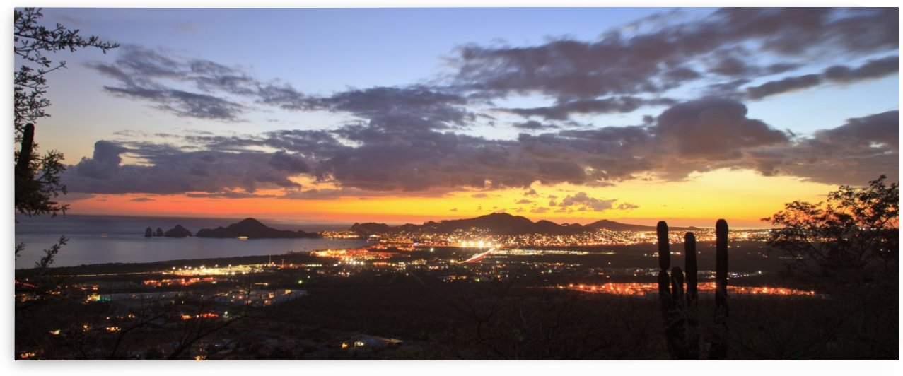 View Of Cabo San Lucas At Sunset; Cabo San Lucas, Baja California Sur, Mexico by PacificStock