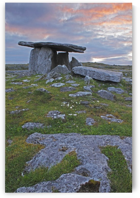 Poulnabrone Grave Site In The Burren Region; County Clare, Ireland by PacificStock