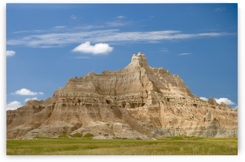 Colorful Hill In Badlands National Park; South Dakota, United States of America by PacificStock