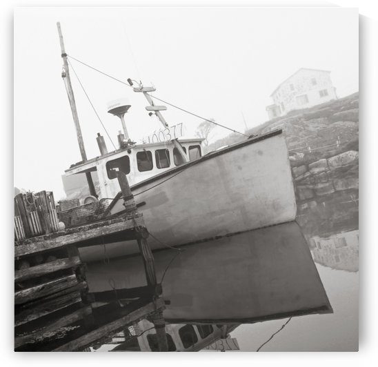 Fishing Boat, Peggy's Cove, Nova Scotia. by PacificStock