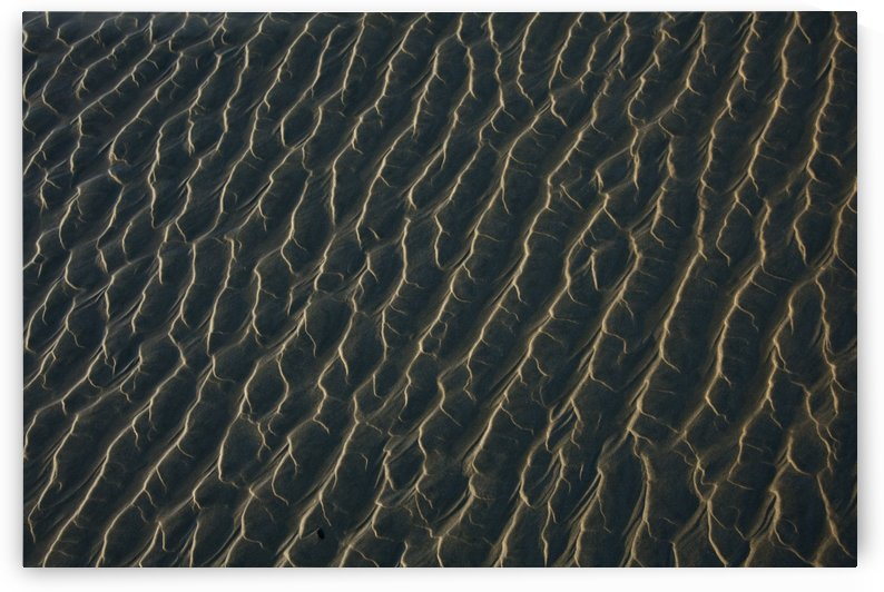 Ripples Form In The Sand At Chesterman's Beach And Frank Island Near Tofino; British Columbia, Canada by PacificStock
