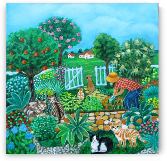 gardening by Gloria Gill