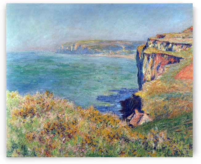 Cliffs at Varengeville by Monet by Monet