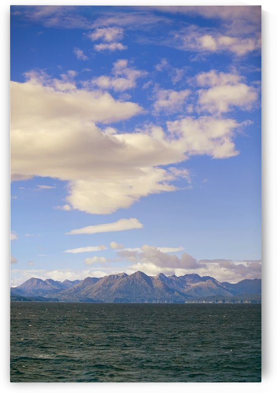 Kodiak Island As Seen From Alaska Marine Ferry Gulf Of Alaska Southwest Autumn by PacificStock