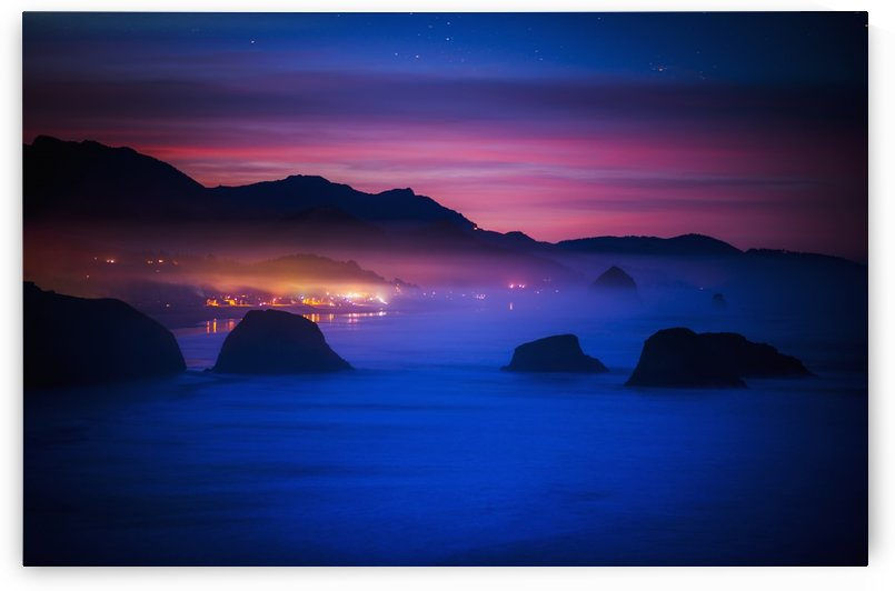 A new day begins on the west coast; Cannon Beach, Oregon, United States of America by PacificStock