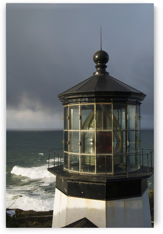 A stormy morning at Cape Meares; Oregon, United States of America by PacificStock