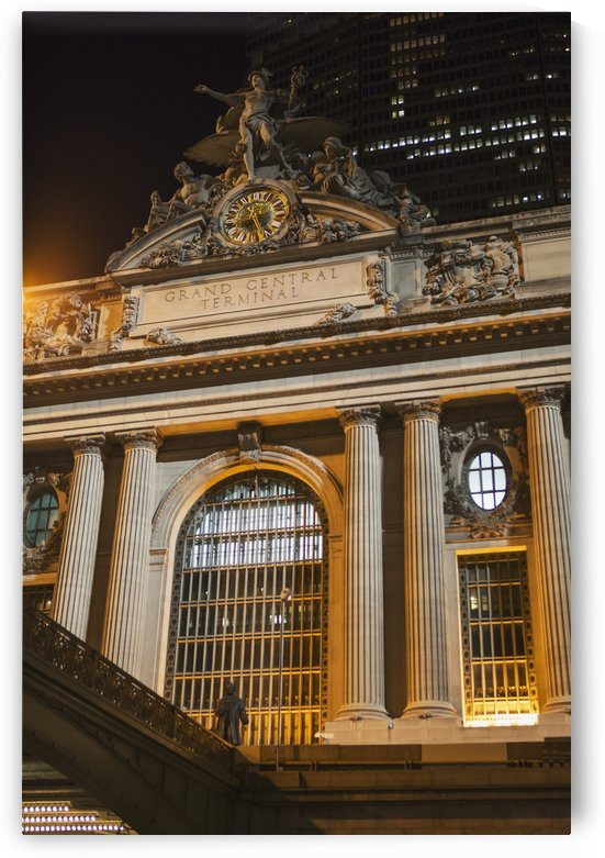 Grand Central Terminal at night; New York City, New York, United States of America by PacificStock