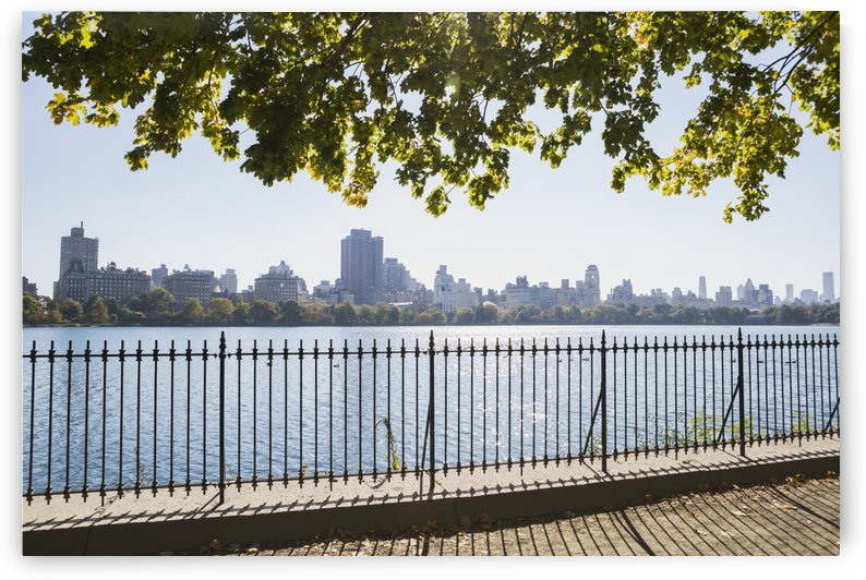 New York City skyline from Central Park; New York City, New York, United States of America by PacificStock
