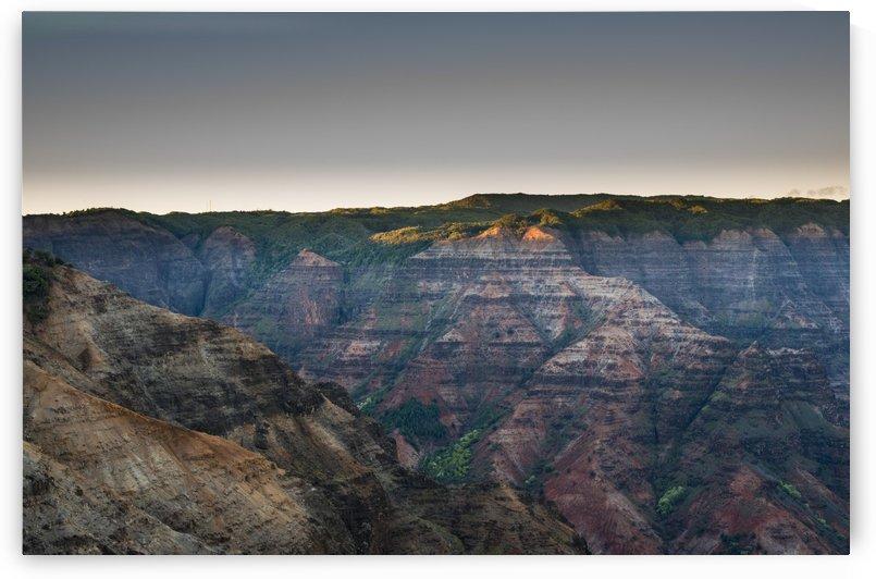 Amazing colours found at Waimea Canyon; Kauai, Hawaii, United States of America by PacificStock