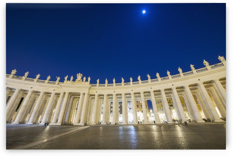 St. Peter's Square, Vatican City; Rome, Lazio, Italy by PacificStock