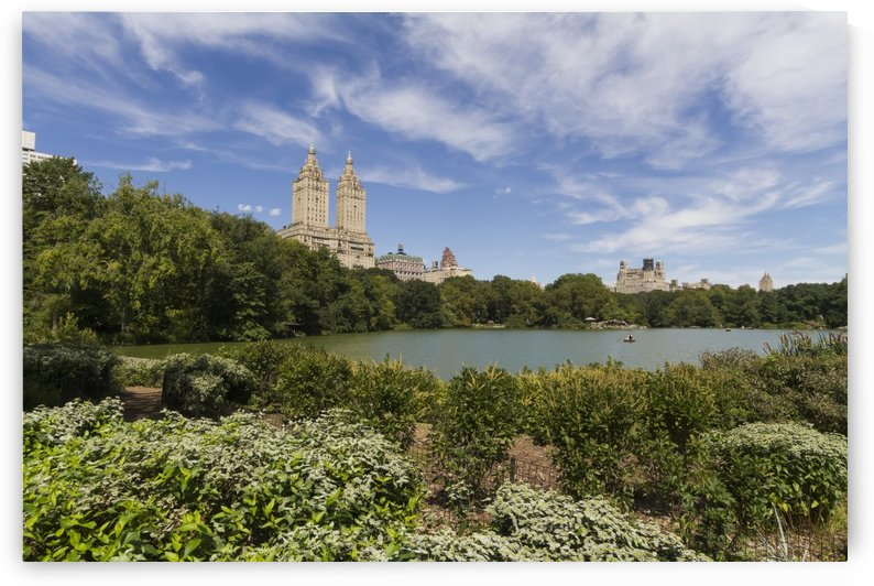 The Lake in Central Park, New York City, New York, United States by PacificStock