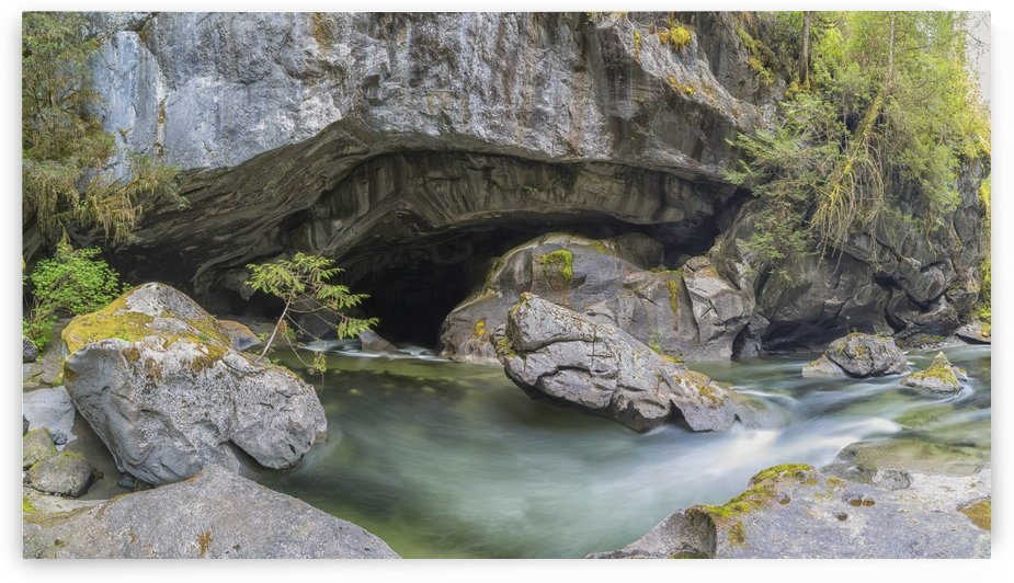 Little Huson Caves, near Woss; British Columbia, Canada by PacificStock