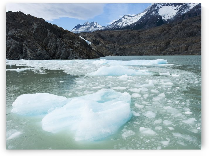Southern Patagonian Ice Field; Torres del Paine, Magallanes and Antartica Chilena Region, Chile by PacificStock