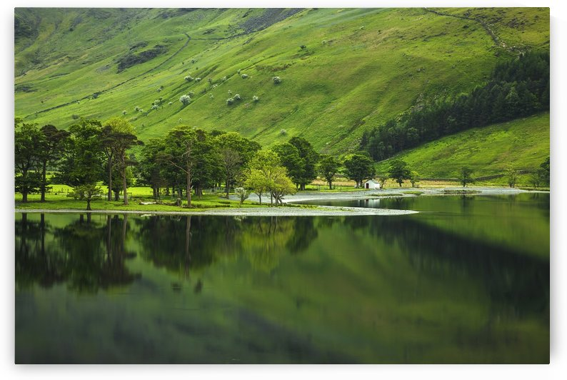 Green Peace, Buttermere, UK by Steve Thompson Sunstormphotography
