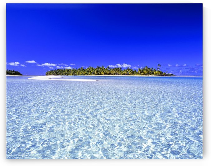 One Foot Island, Aitutaki; Aitutaki, Cook Islands by PacificStock