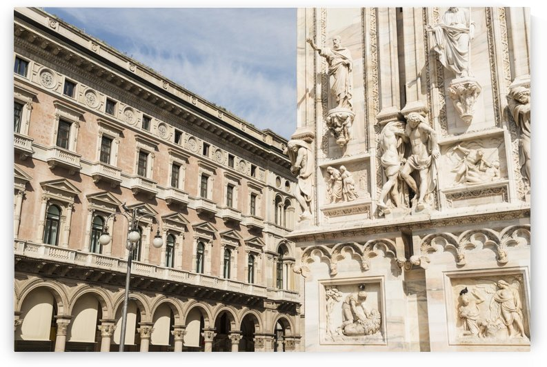 Facade of Milan Cathedral; Milan, Lombardy, Italy by PacificStock