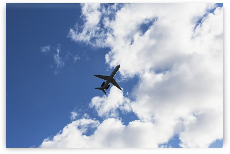 Airplane leaving Anchorage airport: Anchorage, Alaska, United States of America by PacificStock