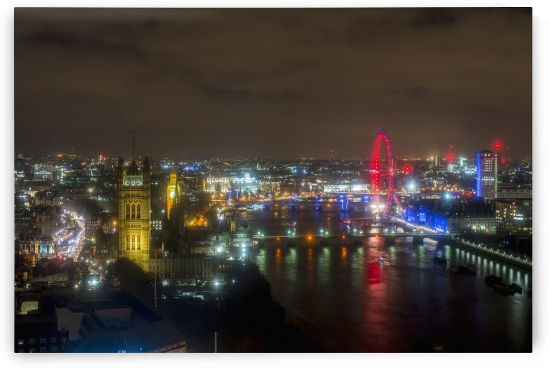 London views from Altitude 360, Millbank Tower; London, England by PacificStock