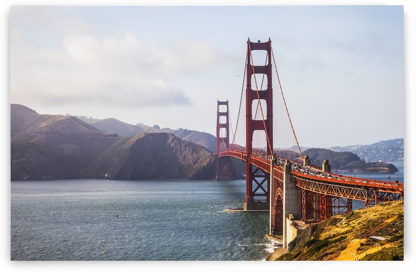 View of the Golden Gate Bridge from Fort Point; San Francisco, California, United States of America by PacificStock