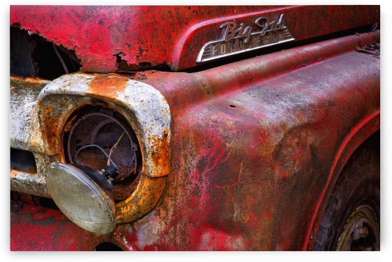 Detail of fire truck that belonged to Kodiak Volunteer Fire Department; Kodiak, Alaska, United States of America by PacificStock