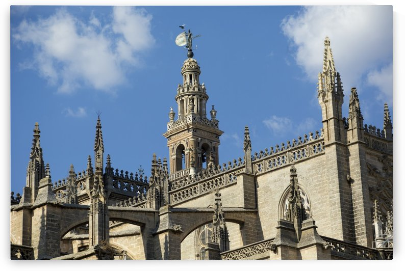 Seville Cathedral, the third largest church in the world; Seville, Spain by PacificStock