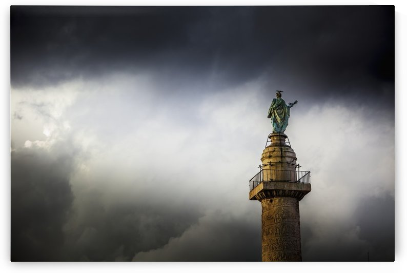 Trajan's column; Rome, Italy by PacificStock