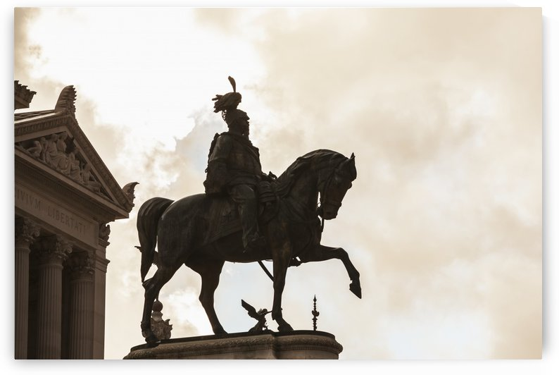 Statue of Victor Emmanuel; Rome, Italy by PacificStock